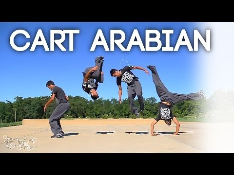 TUTORIAL - Cartwheel Frontflip / Cart Arabian