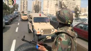 الجيش ينشر قواته لتأمين المنشآت الحيوية بمختلف المحافظات