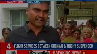 Cyclone Gaja: Death toll rises to 15, Rajnath Singh calls up E. Palaniswami on cyclone issue - NEWSXLIVE