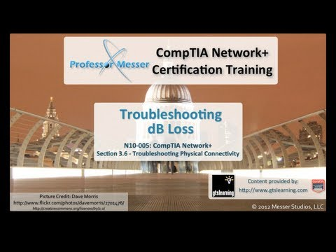CompTIA Network+ N10-005: 3.6 - Troubleshooting dB Loss