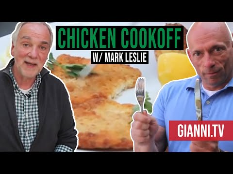 Chicken Cutlet and Potatoes Cook-off, Italian Recipes - Gianni's North Beach