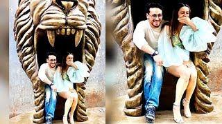 #bollywoodnews देखें, कैसे शेर के मुंह में बैठे नज़र आए टाइगर श्रॉफ