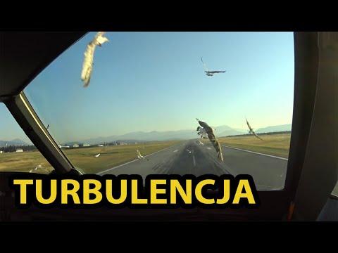 Uderzenie w ptaki podczas lądowania w Podgoricy