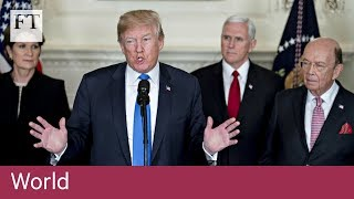 Donald Trump to impose tariffs on $60bn of Chinese imports - FINANCIALTIMESVIDEOS
