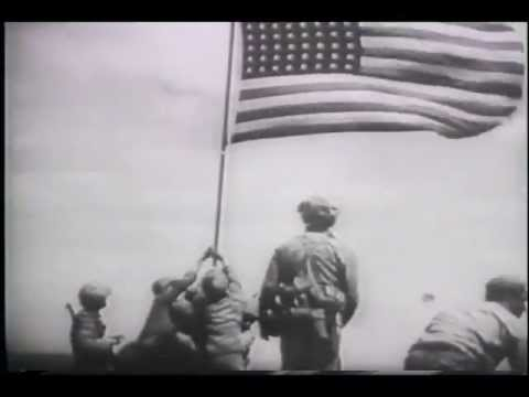 Marines Raise Flag Over Iwo Jima (1945) -lepIt3HB3XM