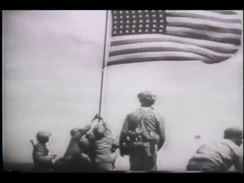 Marines Raise Flag Over Iwo Jima (1945) -lepIt3HB3XM
