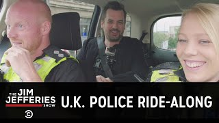 Jim's U.K. Police Ride-Along - COMEDYCENTRAL