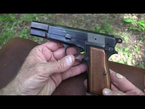Browning Hi-Power Close-Up