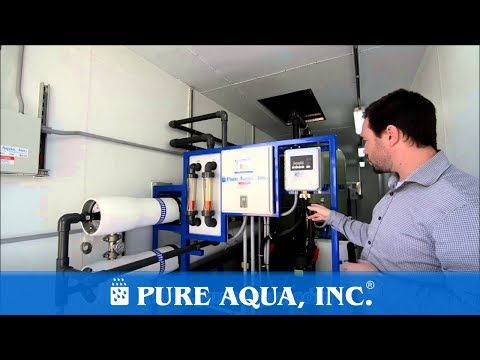 Pure Aqua| Containerized Water Treatment Systems Libya 66,000 GPD