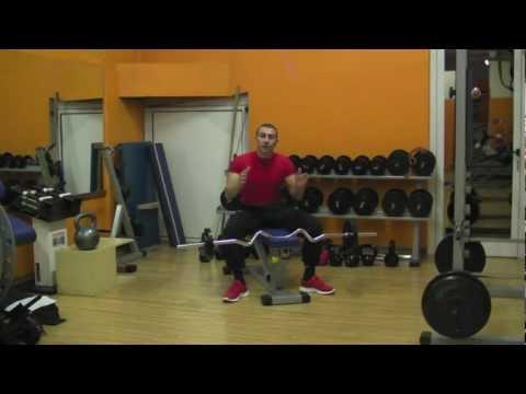 Personal Trainer #17: Tricipiti con bilanciere sagomato (Ez)