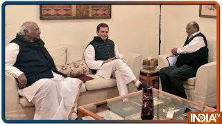 Rahul Gandhi Meets Sharad Pawar To Discuss Strategy For 2019 Lok Sabha Polls - INDIATV