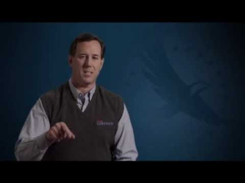 Rick Santorum's Message for America