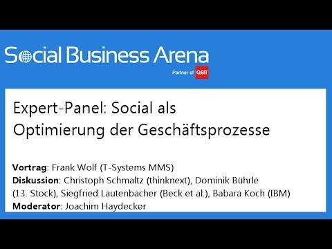 #cebitsba 2014 | Social als Optimierung der Geschäftsprozesse