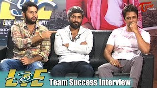 Lie Movie Team Success Interview   Nithin, Arjun, Megha Akash - TELUGUONE