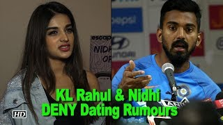 Cricketer KL Rahul & Nidhi Agerwal DENY Dating Rumours - IANSLIVE