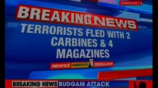 Budgam Attack: Terrorists fled with 2 carbines and 4 magazines; operation underway - NEWSXLIVE