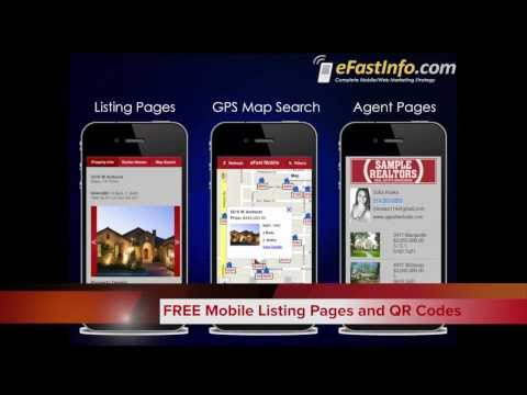 Just Listed Mobile Interactive Mailers