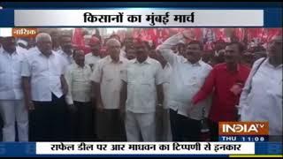 Agitating Farmers Set To Take Out March From Nashik To Mumbai Today - INDIATV