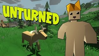 watch the youtube video Unturned - Minecraft Zombies! - W/AshDubh & SnakeDoctor