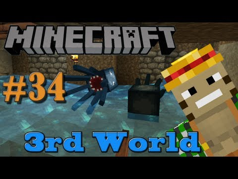 Squidpocalypse! Minecraft Squid Trap (Pt. 2) 3rd World LP #34