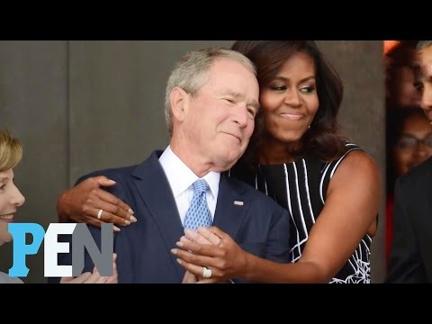 George W. Bush Opens Up About His Unlikely Friendship With Michelle Obama | PEN | TIME