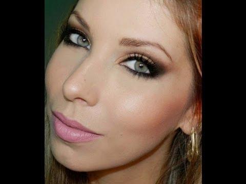 Maquiagem para madrinha de casamento Vc Bonita, com Lu Ferraes