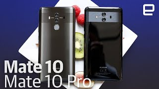 Huawei Mate 10 and Mate 10 Pro hands-on - ENGADGET