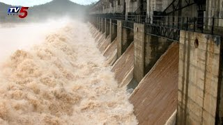 Water Levels Increased in Tungabhadra Dam : TV5 News - TV5NEWSCHANNEL