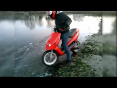 Malaguti F12 on Ice