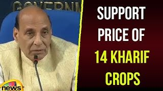 Modi Govt's Historic Decision To Increase Minimum Support Price Of 14 kharif Crops | Mango News - MANGONEWS