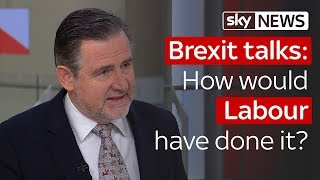 Brexit Negotiations: How would Labour have done it differently? - SKYNEWS
