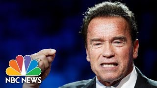 Arnold Schwarzenegger: U.S. Didn't Pull Out Of Climate Deal, President Donald Trump Did | NBC News - NBCNEWS