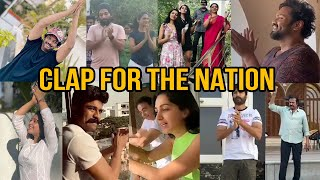 Tollywood Celebrities Clapping | Janata Curfew | Clap For The Nation - TFPC