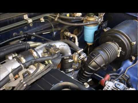 How to change Fuel Filter on Nissan Navara d22, ZD30 Turbo Diesel Motor