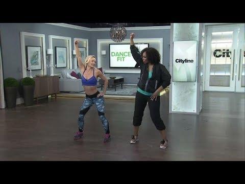 Get a dancer's body with celebrity trainer Simone de la Rue's workout
