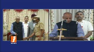 Governor ESL Narasimhan Launched GST Rate Finder APP In Raj Bhavan | Hyderabad | iNews - INEWS