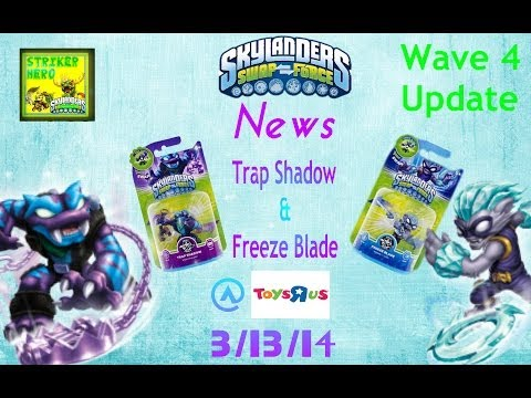 Skylanders News Trap Shadow & Freeze Blade @ToysRUs Tomorrow!