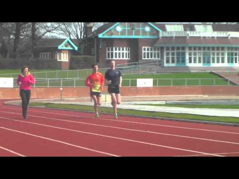 John Beattie and Luke Cragg Miles Workout