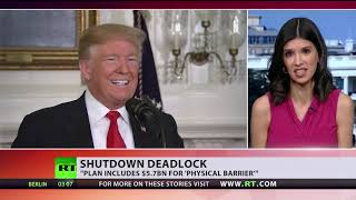 Trump offers compromise to end govt shutdown, Democrats say 'no' - RUSSIATODAY