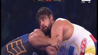 PWL 3 Day 14: Satyawart Kadian VS Deepak Punia at Pro Wrestling League season 3 |Full Match - ITVNEWSINDIA