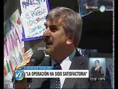 Operación de Cristina Kirchner: Sin complicaciones