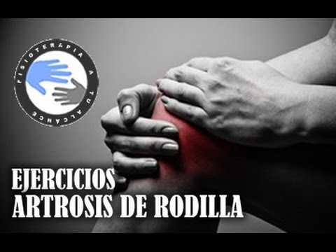Artrosis de rodilla, ejercicios para aliviar el dolor  /  Fisioterapiatualcance