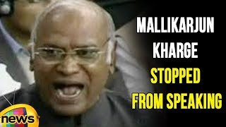 TDP Leaders Uproar in Lok sabha Once Again, Stopped Mallikarjun Kharge From Speaking | Mango News - MANGONEWS