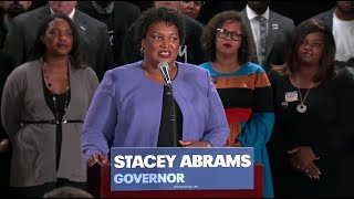 Stacey Abrams holds a news conference - WASHINGTONPOST