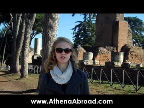 Athena Study and Intern Abroad in Florence, Italy Video