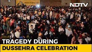 60 Dead As Train Hits Crowd Watching Ravan-Burning In Punjab - NDTV