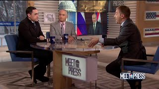 Full Schmidt and Wittes: Investigation into Trump 'was about Russia. Full stop.' | Meet The Press - NBCNEWS