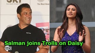 Salman joins Trolls, recites Daisy's 'Race 3' dialogue - IANSLIVE