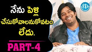 Jabardasth Sudigali Sudheer & Ram Prasad Exclusive Interview Part #4 || Talking Movies With iDream - IDREAMMOVIES