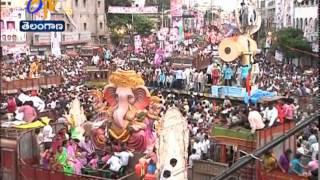 Various Types Of Ganesh Idols Attracted Everyone @ Mojamjahi Market - ETV2INDIA